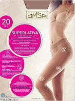 Колготки бесшовные OMSA Superlativa 20 den 4, daino