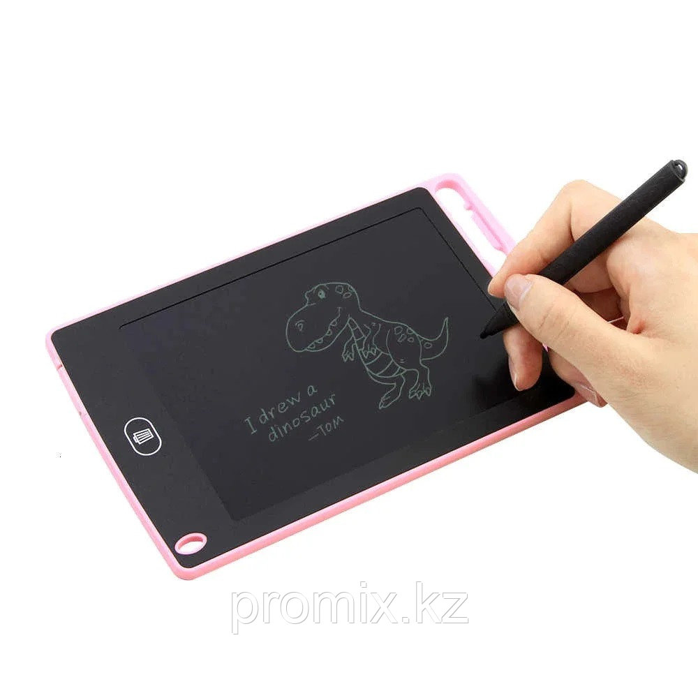 LCD планшет для рисования writing tablet 6,5 (с кнопкой блокировки экрана)