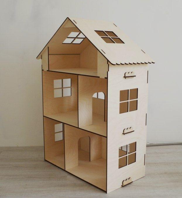 Кукольные эко домики (без мебели)