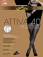 Колготки большого размера OMSA Attiva 40 ден XXL