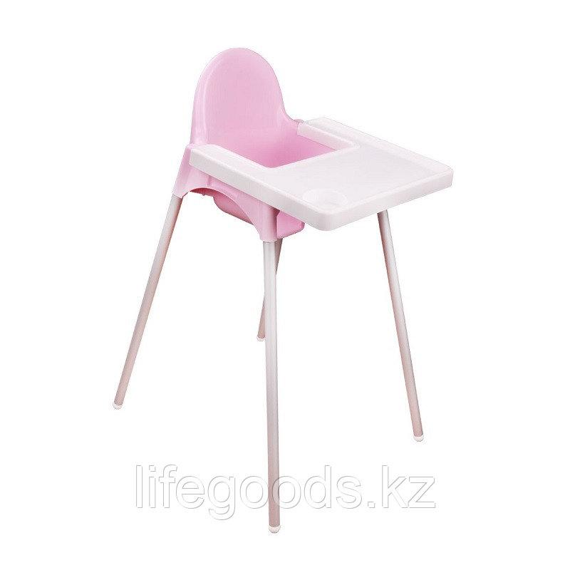Стульчик для кормления (розовый), М6248