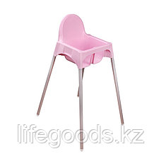 Стульчик для кормления (розовый), М6248, фото 3
