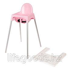 Стульчик для кормления (розовый), М6248, фото 2