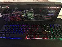 Игровая проводная клавиатура с подсветкой X-game XK-200UB