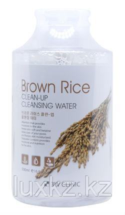 Мицеллярная вода с экстрактом бурого риса 3W Clinic Clean-Up Cleansing Water Brown Rice