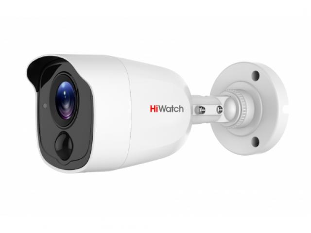 Цилиндрическая HD-TVI видеокамера HiWatch DS-T210
