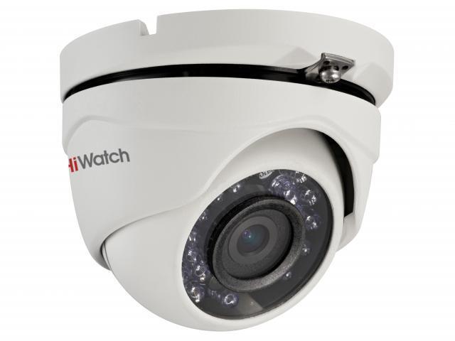 Купольная HD-TVI видеокамера HiWatch DS-T203