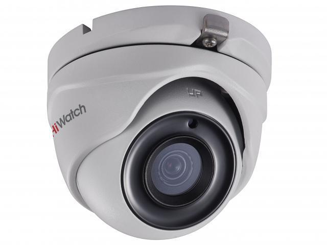 Купольная HD-TVI видеокамера HiWatch DS-T303