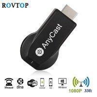 Беспроводной HDMI - Wi-Fi адаптер для передачи картинки на большой экран, Модель AnyCast M9 Plus