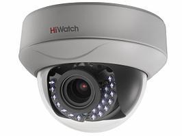 Купольная HD-TVI видеокамера HiWatch DS-T207P