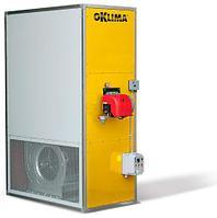 Промышленный стационарный нагреватель воздуха непрямого нагрева Oklima SP 600 (пропан-бутан)