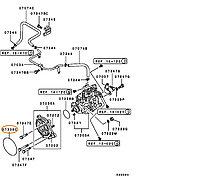 Кольцо уплотнительное топливной аппаратуры MF520601