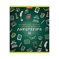 Тетрадь общая ученическая ErichKrause К доске! Литература (48 листов, Линейка)