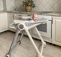 Стульчик для кормления Happy Baby Berny Basic light grey, фото 1