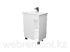 Тумба с раковиной Nuvo 60 напольная. 1д. Дуб сокраменто, фото 3