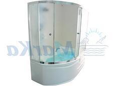 Акриловая ванна Диана  (160*100)(Правая) (Полный комплект) Ассиметричная. Угловая, фото 3