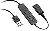 Шнур-переходник Poly Plantronics Practica QD-USB (88465-01)