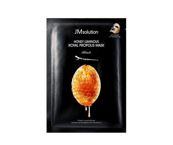Тканевая маска с прополисом JM SOLUTION Honey Luminous Royal Propolis Mask (Поштучно), фото 2