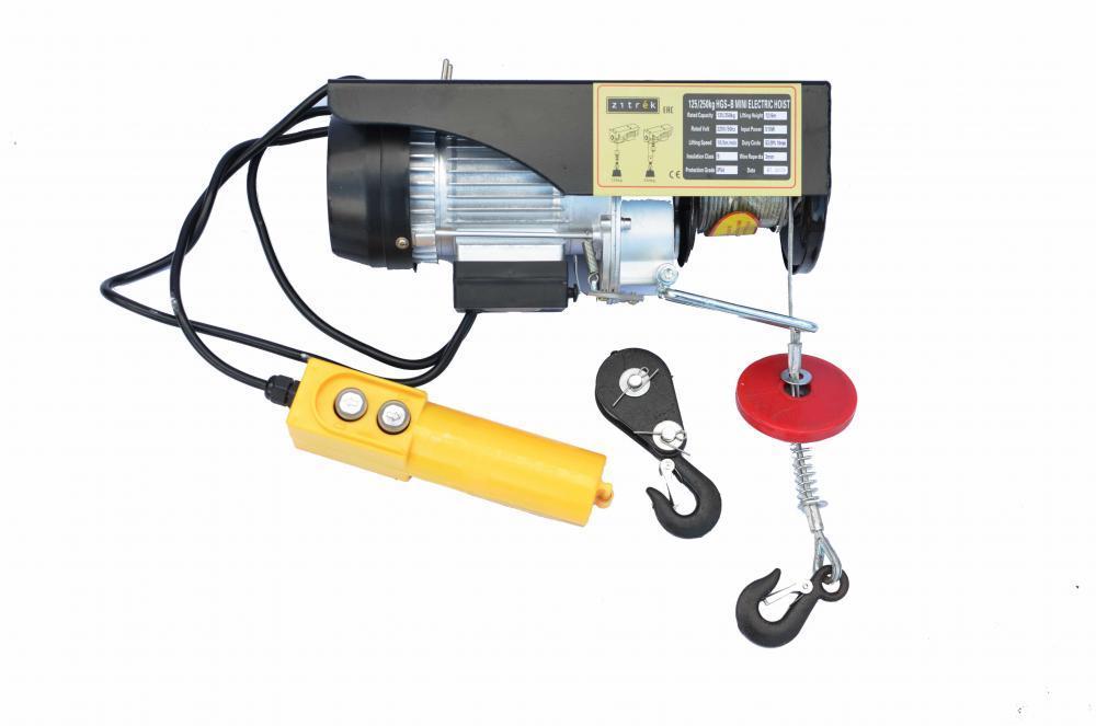 Таль электрическая стационарная Zitrek РА-250 Н=12/6м 004-5040