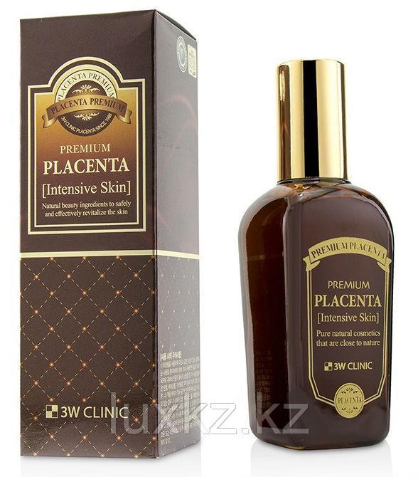 Омолаживающий тонер с экстрактом плаценты 3W Clinic Premium Placenta Intensive Skin