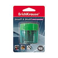 Пластиковая точилка с контейнером ErichKrause Smart&Sharp (Ассорти)