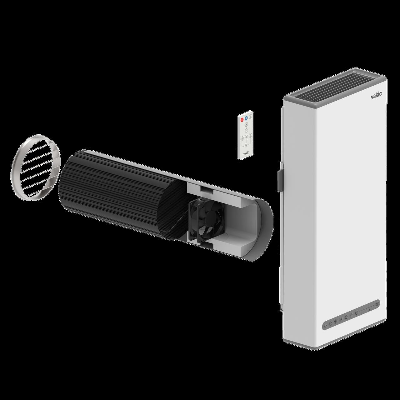 VAKIO BASE Plus (встроенная клавиатура управления) для стен толщиной от 440мм