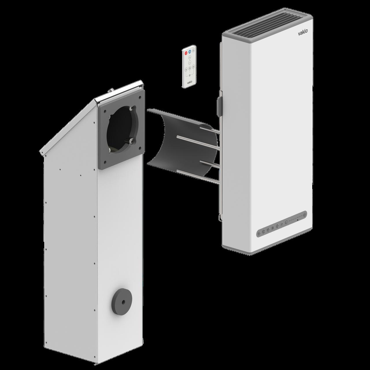 VAKIO WIDOW Plus (встроенная клавиатура управления) для стен толщиной от 10мм