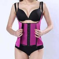Пояс для похудения spiral steel boned abdomen corset