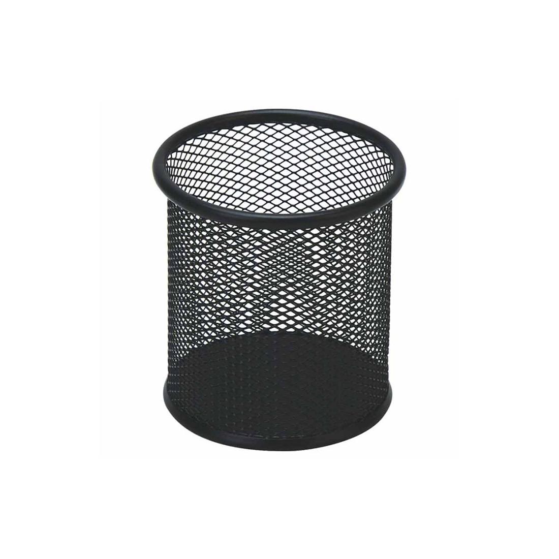 Органайзер металлический (стакан) Comix B2259 (91х99 мм, Чёрный)