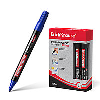 Перманентный маркер ErichKrause P-200 (Синий)