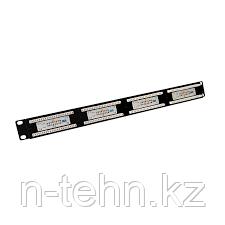 Yushicep YS-1307A 19-дюймовый 1u 24 порта UTP5E патч панель