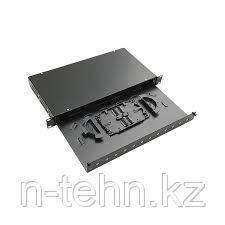 Yushicep YS-2024E 19-дюймовая 24-портовая оптическая патч панель, выдвиж.