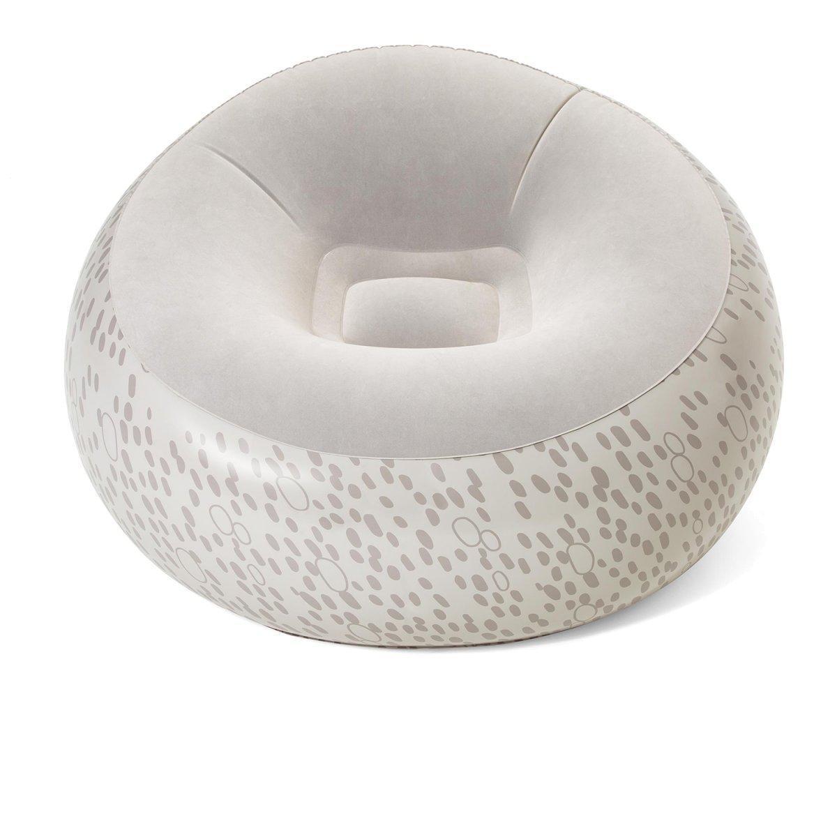 Надувное кресло Bestway 75052, 112 х 112 х 66 см, белое