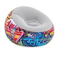 Надувное кресло Bestway 75075, 112 х 112 х 66 см, белый