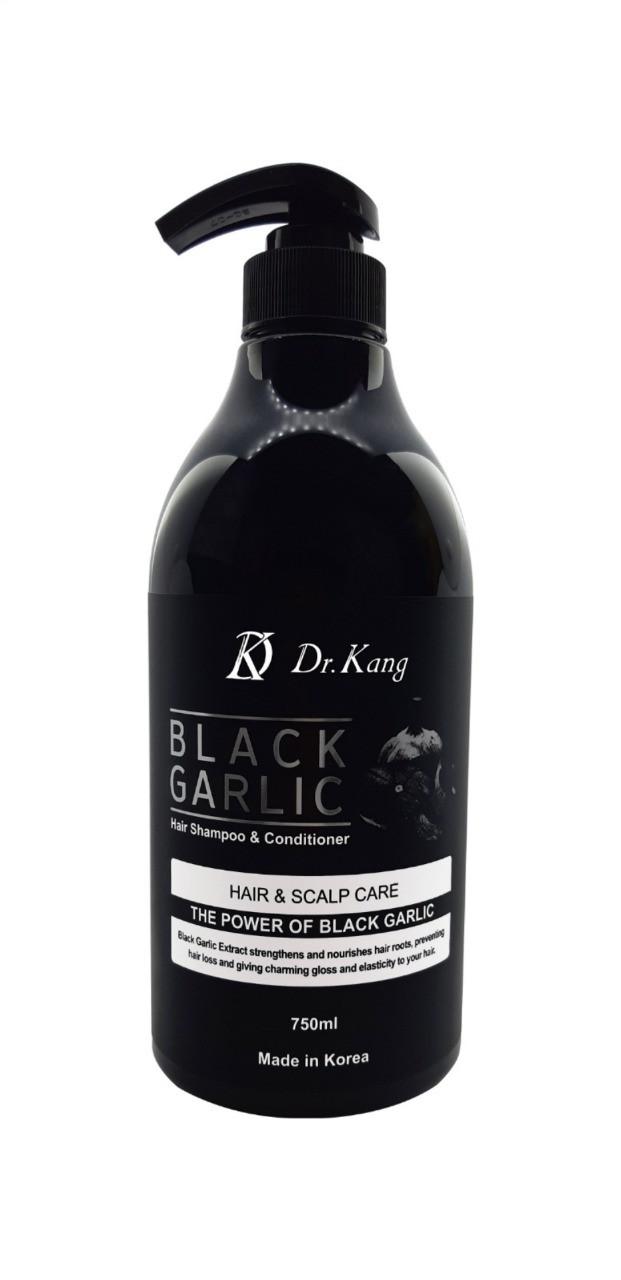 """DR KANG Black Garlic Шампунь и Кондиционер 2в1  """"Черный Чеснок"""" 750мл."""