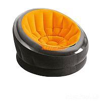 Надувное кресло Intex 68582, 112 х 109 х 69 см, оранжевое, фото 1