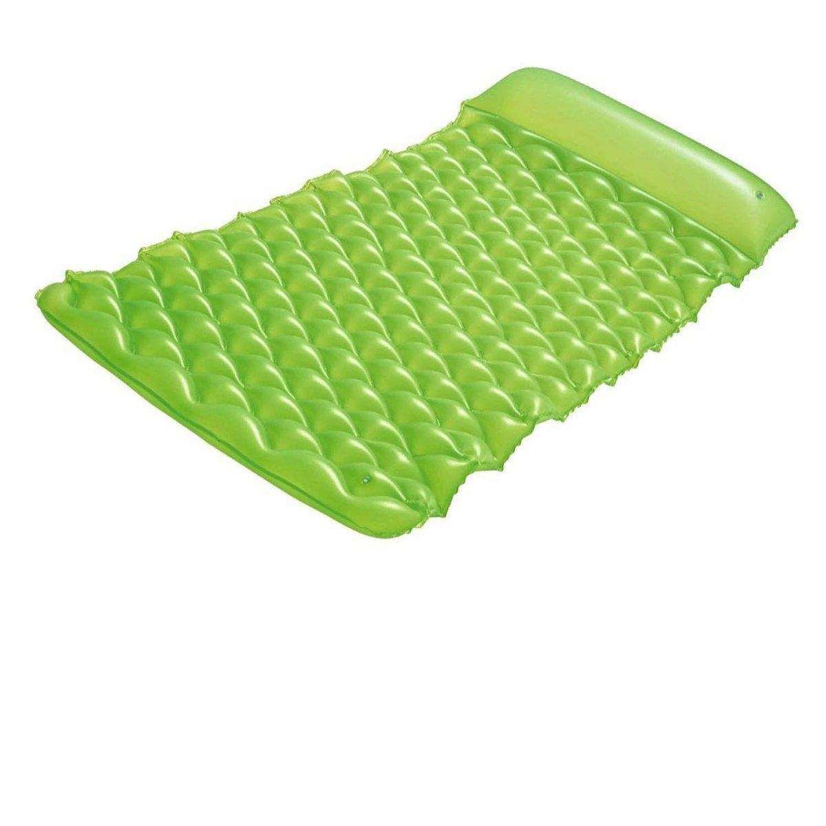Пляжный надувной матрас - ролл Bestway 44020, 213 х 86 см, зеленый