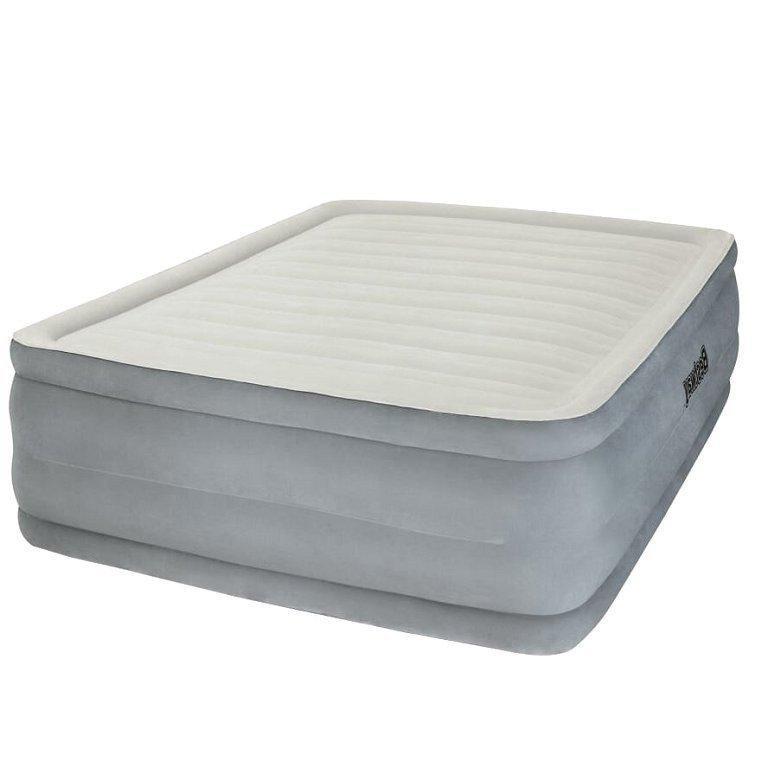 Архивный. Надувная кровать Bestway 67536, 152 х 203 х 46 см, встроенный электронасос. Двухспальная