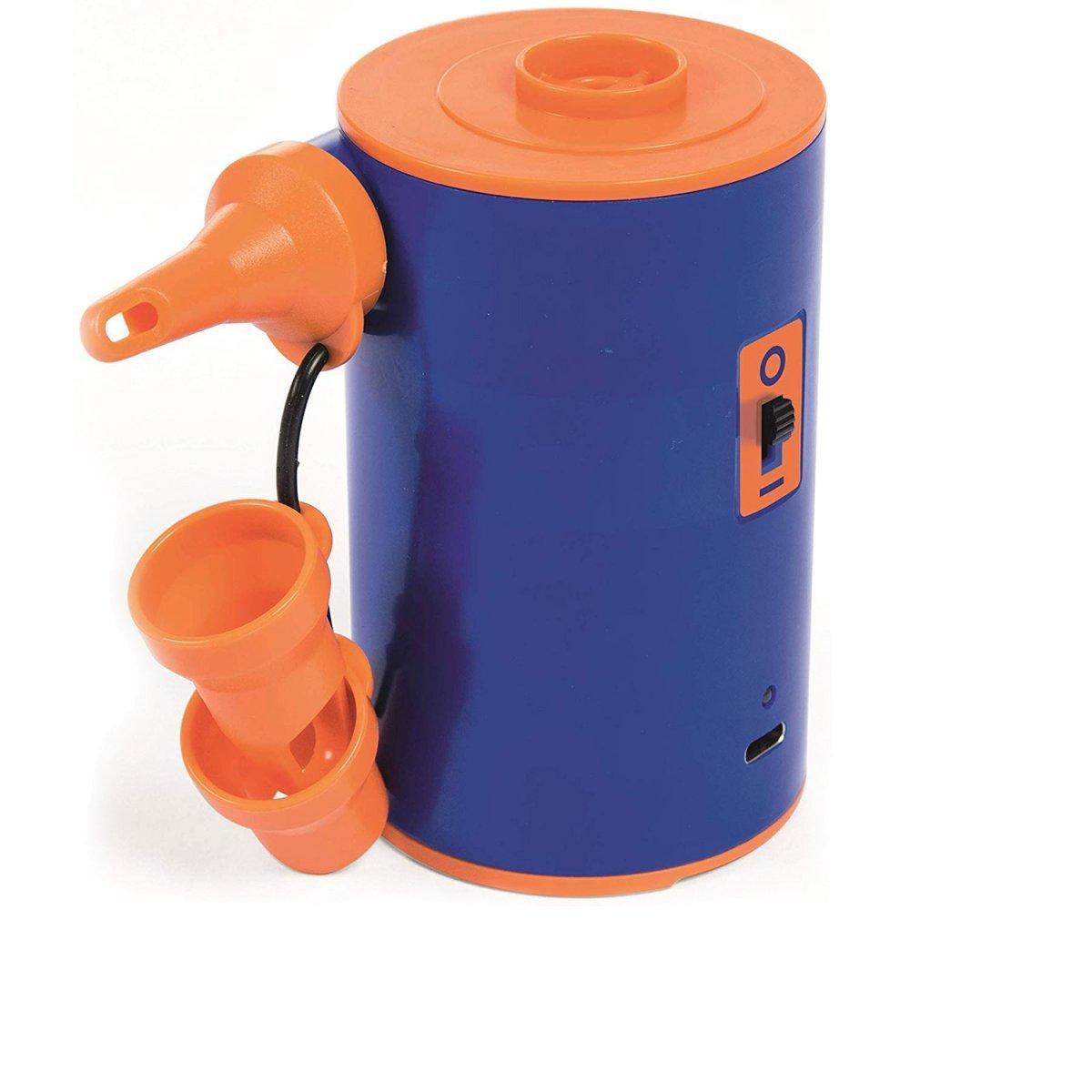 Электрический насос для надувания Bestway 62101 (7В портативный элетрический USB насос на аккумуляторах)