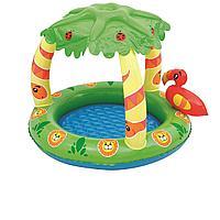 Детский надувной бассейн Bestway 52179 Джунгли,  99 х 91 х 71 см, фото 1