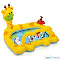 Детский надувной бассейн Intex 57105 Жираф, 112 х 91 х 72 см, фото 1