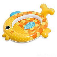 Детский надувной бассейн Intex 57111 Золотая рыбка, 140 х 124 х 34 см