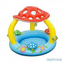 Детский надувной бассейн Intex 57407 Грибок, 102 х 89 см
