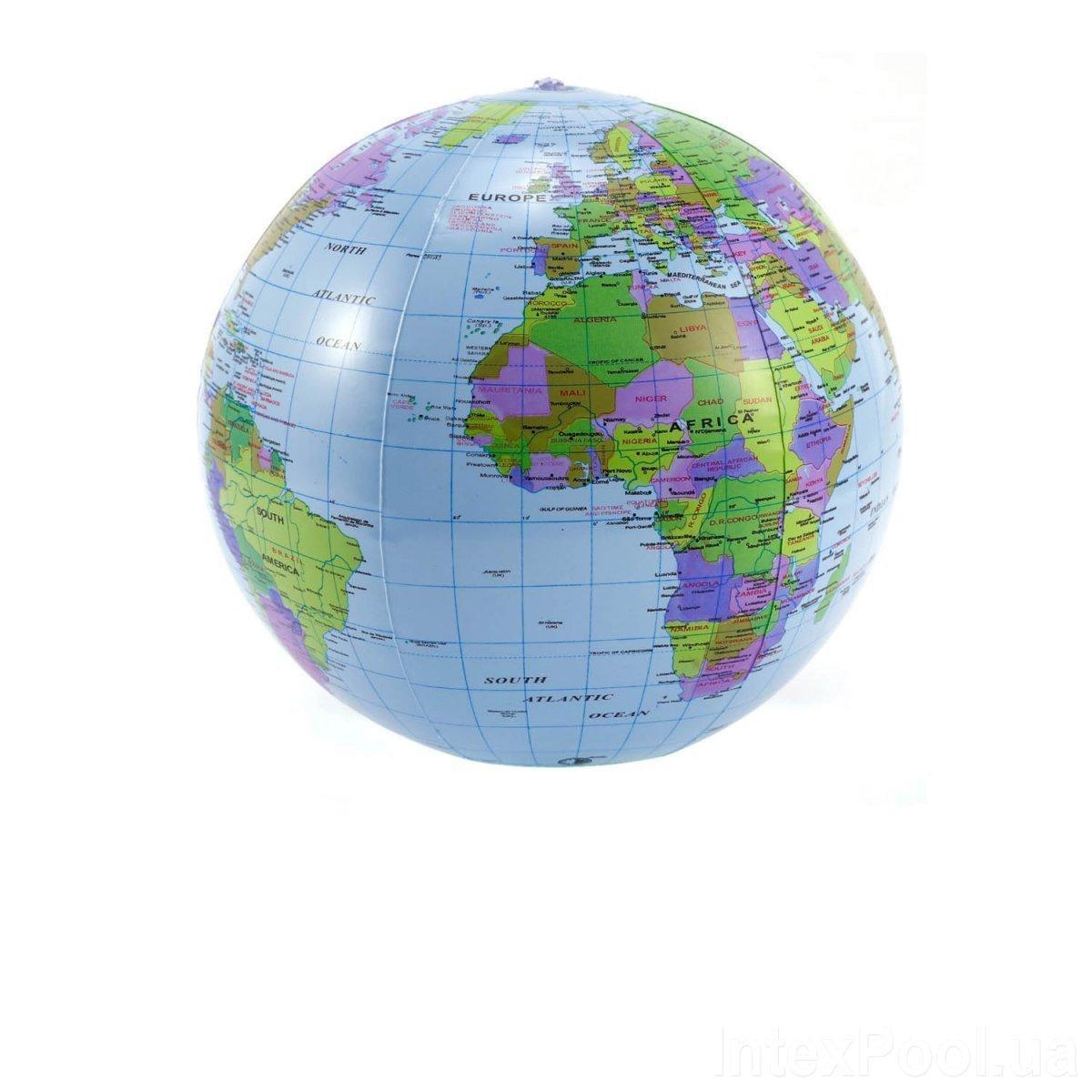 Надувной мяч Bambi 0559 Глобус, 35 см