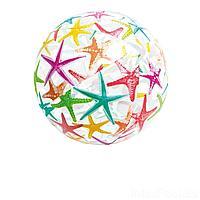 Надувной мяч Intex 59040 Морские звездочки, 51 см, фото 1