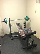 Скамья для жима штанги YT-30716 до 200 кг., фото 3