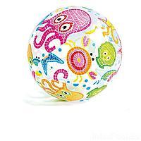 Надувной мяч Intex 59040 Осьминожка, 51 см, фото 1