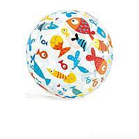 Надувной мяч Intex 59040 Рыбки, 51 см