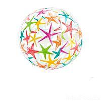 Надувной мяч Intex 59050 Морская звезда, 61 см