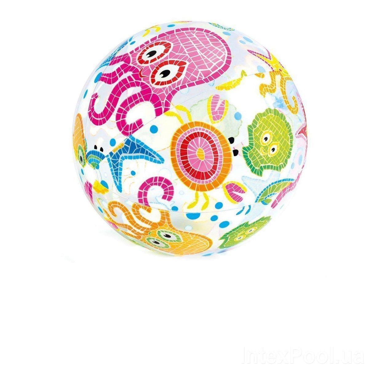Надувной мяч Intex 59050 Осьминожка, 61 см